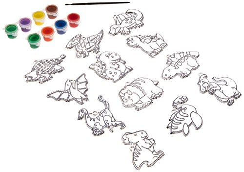 Suncatcher Group Activity Kit Dinosaur 12/Pkg