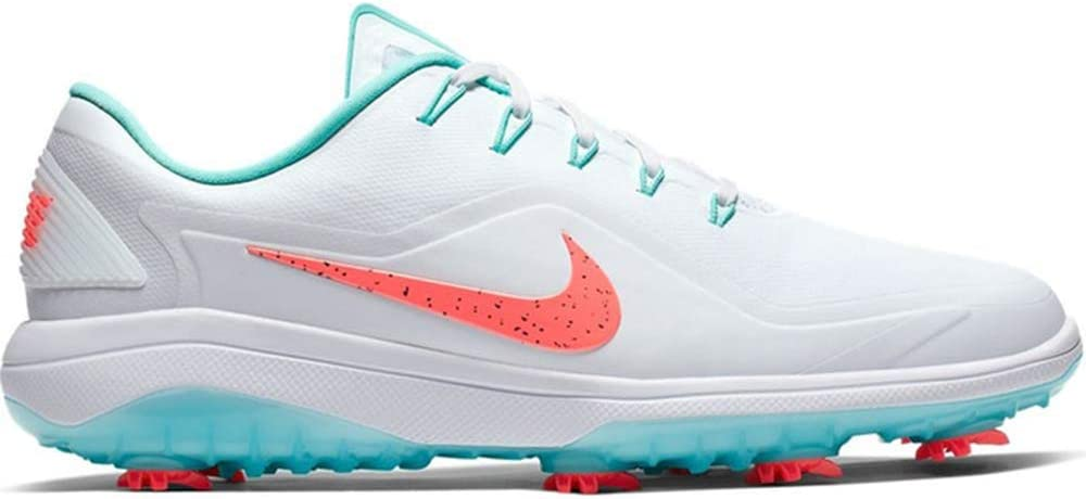 Nike React Vapor 2 Golf Shoes - White/Hot Punch/Aurora Green (9.5 M) 51m2BXdK2T7LSL1250_