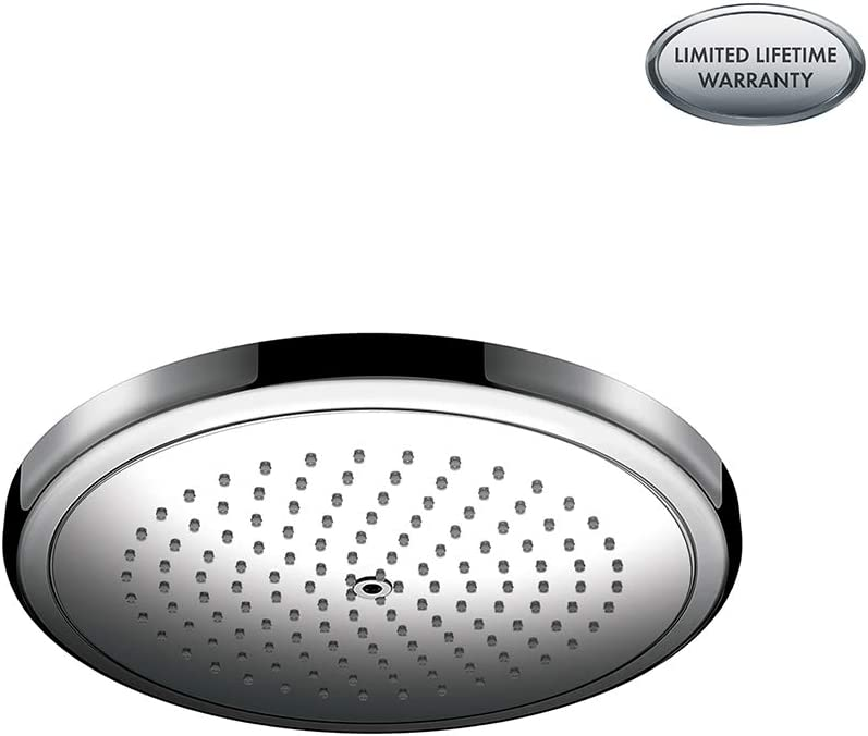 Hansgrohe 26217001 Croma Showerhead, 1.8 gallons per minute, Chrome