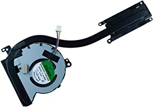 Replacement Laptop Cooling Fan for Dell Latitude E7250 Series CPU Fan with Heatsink Radiator Cooler 0J3M4Y J3M4Y EG50040S1-C490-S9A