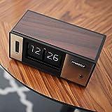mooas Retro Flip Desk Clock, Flip Clock, Retro
