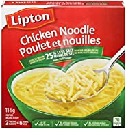 Lipton Dry Soup Mix for A Delicious Chicken Soup Chicken Noodle 25% Less Sodium Low Fat and No Artificial Flav