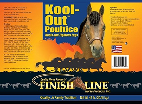 Finish Line Horse Products Kool Out (45-Pounds) by Finish Line Horse Products