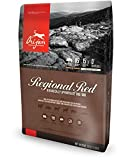 Orijen Regional Red Dry Dog Food 25# Bag with ANGUS BEEF, WILD BOAR, BOER GOAT, ROMNEY LAMB, YORKSHIRE PORK & WILD MACKEREL For Sale