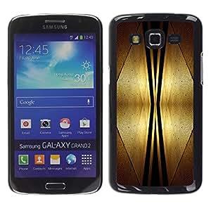 Smartphone Rígido Protección única Imagen Carcasa Funda Tapa Skin Case Para Samsung Galaxy Grand 2 SM-G7102 SM-G7105 Design Interior Art Deco Style Futursim Space / STRONG