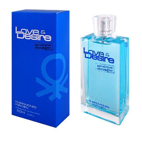 Love & Desire perfume pheromones for men 50 ml seduce women  fresh & vivid...