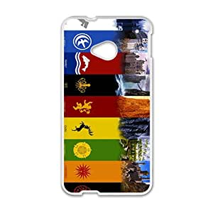 Creative Pattern Bestselling Hot Seller High Quality Case Cove Hard Case For HTC M7