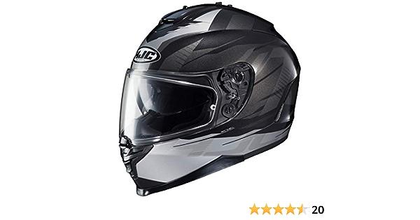 HJC IS-17 Tario Helmet X-Large, Black MC-5