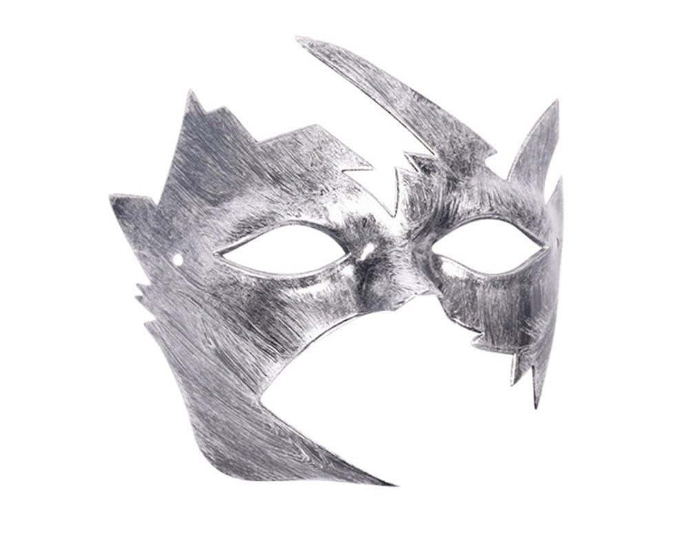 Jewelqueen silver kids krish mask retro masks masquerade