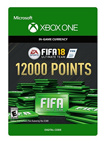 FIFA 18: Ultimate Team FIFA Points 12000 - Xbox One [Digital Code] by Electronic Arts