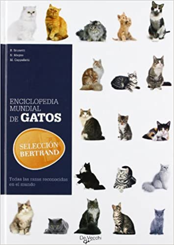 Enciclopedia mundial de gatos (Spanish Edition): B.Brunetti, N.Magno, M.Cappelletti: 9788431541200: Amazon.com: Books