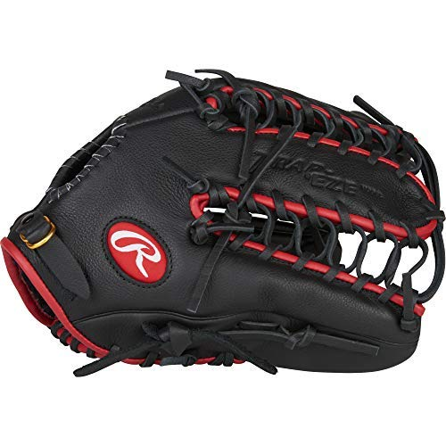 Rawlings Select Pro Lite Youth Left-Handed Baseball Glove, Black, 12.25""