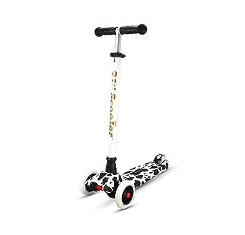 Scooter / Juguetes para Niños Rueda de desbaste abatible/Elevador de Altura Pedal de Destellos de Cuatro Ruedas/3 Años - 12 Años (Color : D): Amazon.es: ...