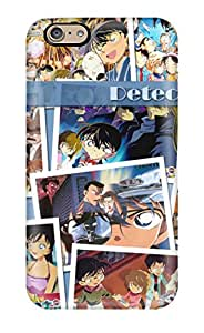 6927067K89464150 Iphone 6 Case Cover - Slim Fit Tpu Protector Shock Absorbent Case (detective Conan)