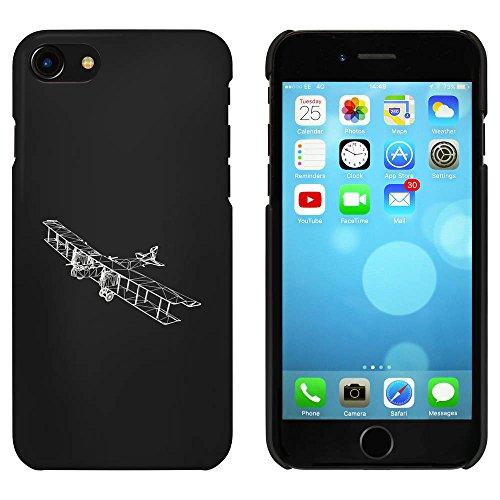 Schwarz 'Antikes Flugzeug' Hülle für iPhone 7 (MC00074881)