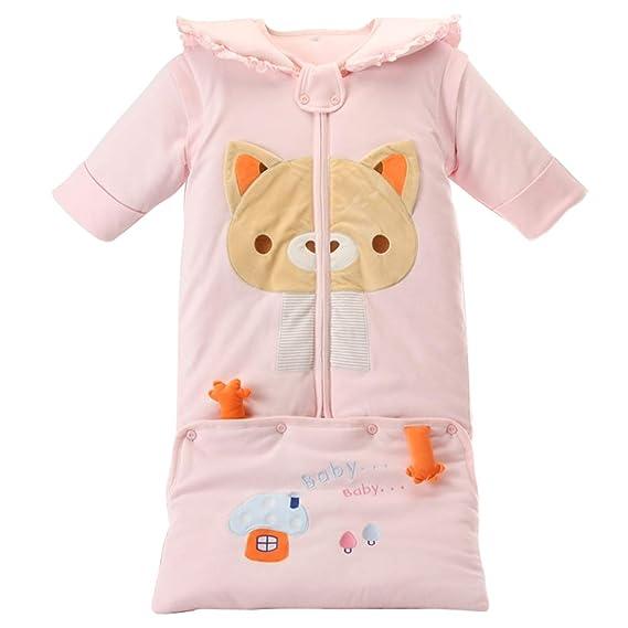 Saco de Dormir Todo el año Encapuchado Mangas Extraíbles - 3 Tog Bebé Sacos para dormir 0-3 Años: Amazon.es: Ropa y accesorios