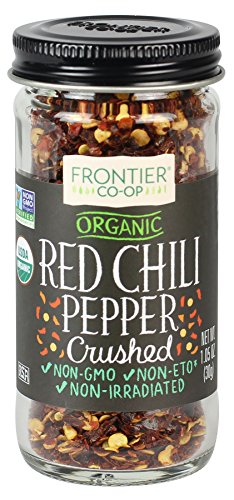 Frontier Co-op Certified Crushed Red Pepper, 1.05 Ounce (Banyan Bay)