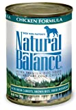 Natural Balance Chicken Brown Rice Formula Dog Food (Pack of 12 13-Ounce Cans)