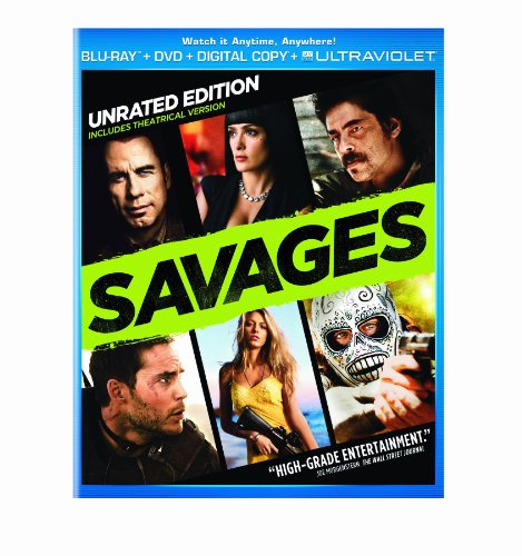 Blu-ray : Savages (With DVD, Ultraviolet Digital Copy, Dubbed, Snap Case, )