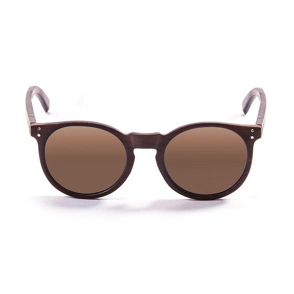 Ocean Eye Gafas de sol, Marrone, 52 Unisex Adulto
