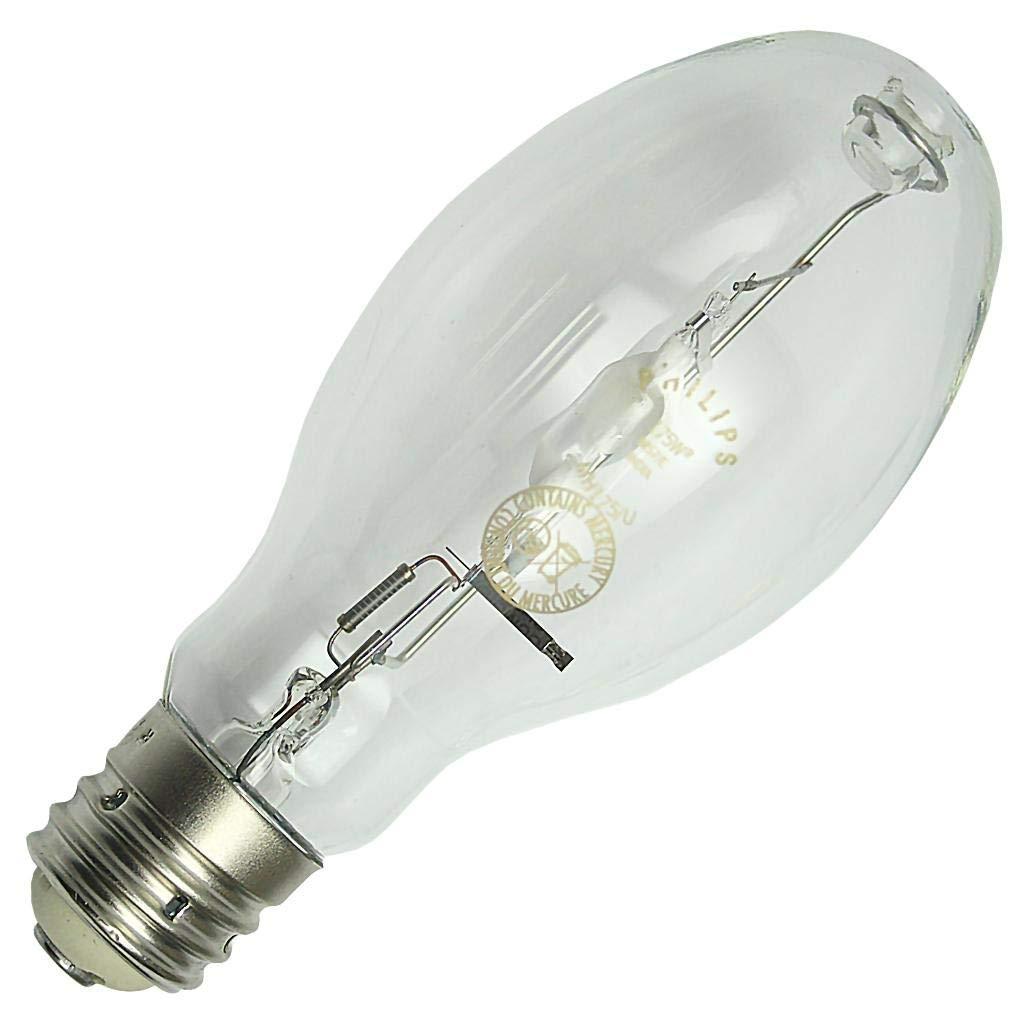 Philips Lighting 287334 ED28 Standard Metal Halide Lamp 175 Watt E39 Mogul Base 8775 Lumens 65 CRI 4000K Cool White