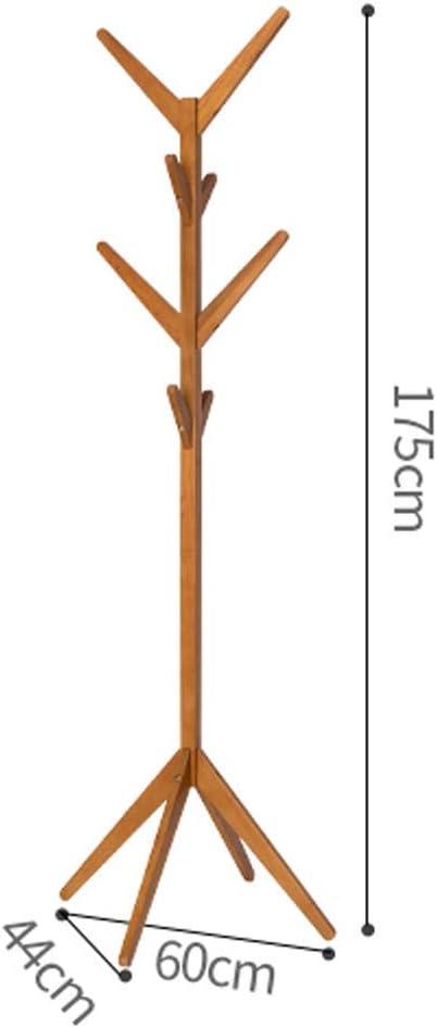 Sciarpa Borsa Ufficio Design Moderno Organizzatore di mobili per Ingresso Giacche Portamonete Camera WXI Hall Tree Appendiabiti a Terra 8 Ganci Appendiabiti Rustico in Legno per Cappello