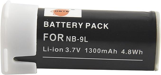 Estación de carga cargador nb-9l para Canon IXUS 1000 HS