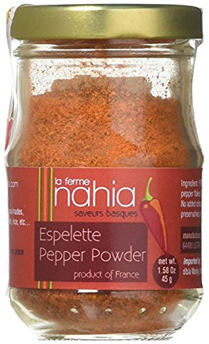 Espelette Pepper Powder PDO - 40 grams / 1.41 ounces by HANIA
