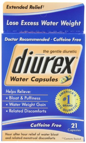 Diurex Diurex Water Capsules Extended Relief - Pack of 6/21 count by Diurex