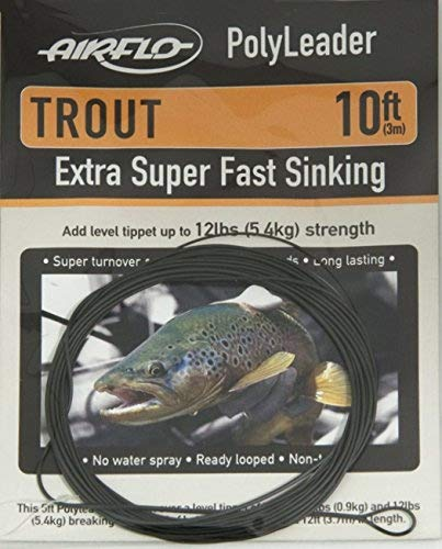 (Airflo Trout Polyleader 10', Extra Super Fast Sink)