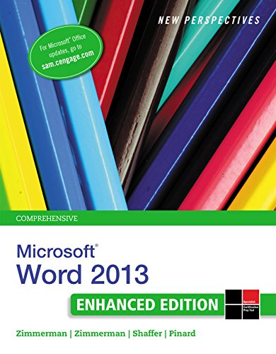 New Perspectives on Microsoft Word 2013, Comprehensive Enhanced Edition (Microsoft Office 2013 Enhanced Editions) Pdf