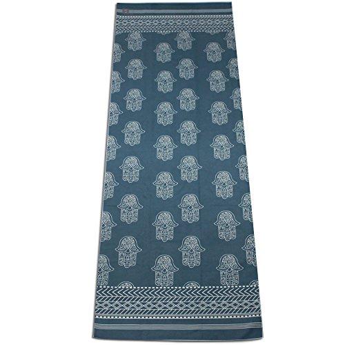 S-WYJ Yoga Towel Mat Non Slip Rosin, Fearless, 24