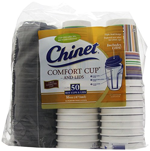 Chinet Comfort 16 Ounce Cups 50 Count