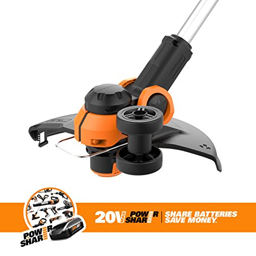Worx WG163.9 20V Cordless Grass Trimmer/Edger with Command Feed, 12'' TOOL ONLY by Worx (Image #2)