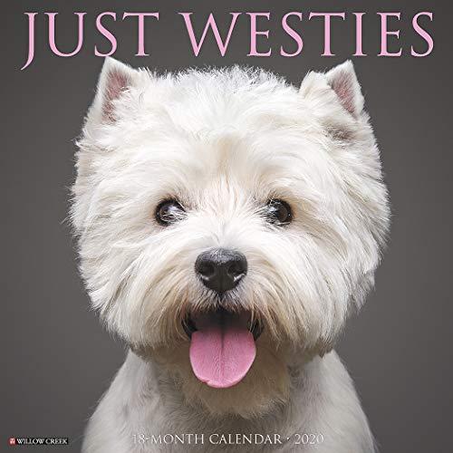 Just Westies 2020 Wall Calendar (Dog Breed Calendar) por Willow Creek Press