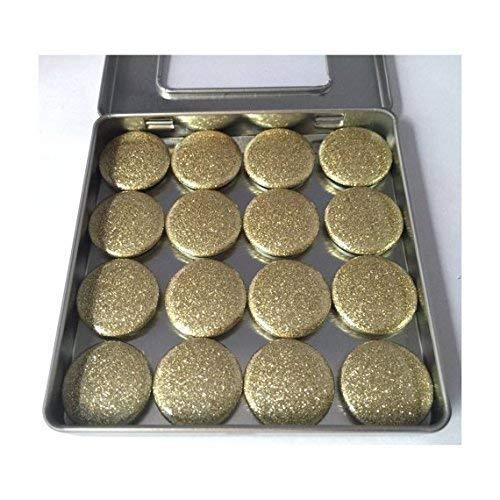 Gold Glitter Magnet Set
