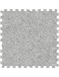 Alessco EVA Foam Rubber Interlocking Premium Soft Carpets 10 X 16 Set Smoke