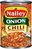 Nalley Chili, Onion, 14 Ounce (Pack of 24)