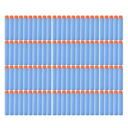 Suriel 200pcs 7.2cm Refill Bullet Darts for Blasters, Light