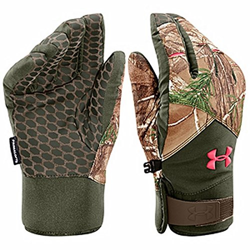 Under Armour Coldgear Infrared Scent Control Primer Glove - Women's Realtree AP - Xtra / Perfection Medium