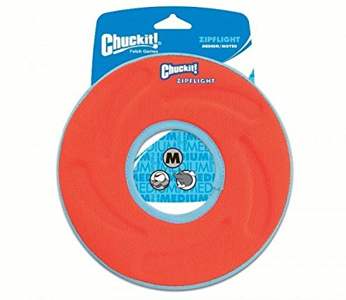 g Frisbee Toy, Medium 21cm (Chuckit Amphibious Flying Ring)