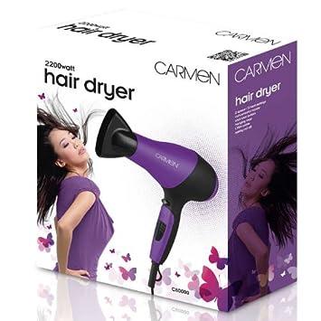 Carmen 2200W Purple Hair Dryer C80000