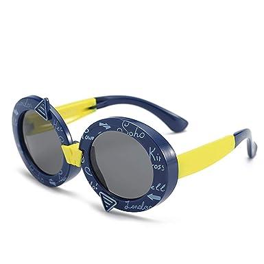 BIGBOBA Gafas de Sol para Niño y Niña-Gafas de Sol de Moda ...