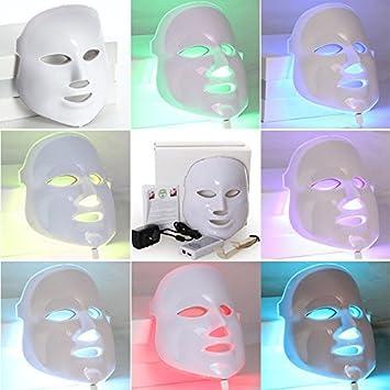 Amazon | LED美顔マスク7色の光...