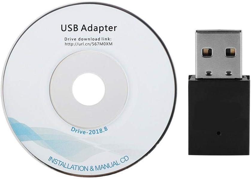 Pasamer Adaptador USB WiFi + Bluetooth 4.0 1.5Dbi Antena ...