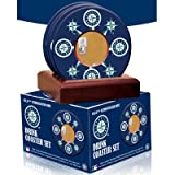 MLB Seattle Mariners Coasters with Game Field