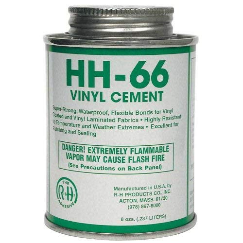 (HH-66 Vinyl Cement, 8 Ounce Can by RH Products)