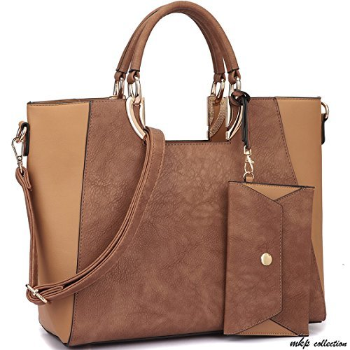 Square Handle Trendy Tote...