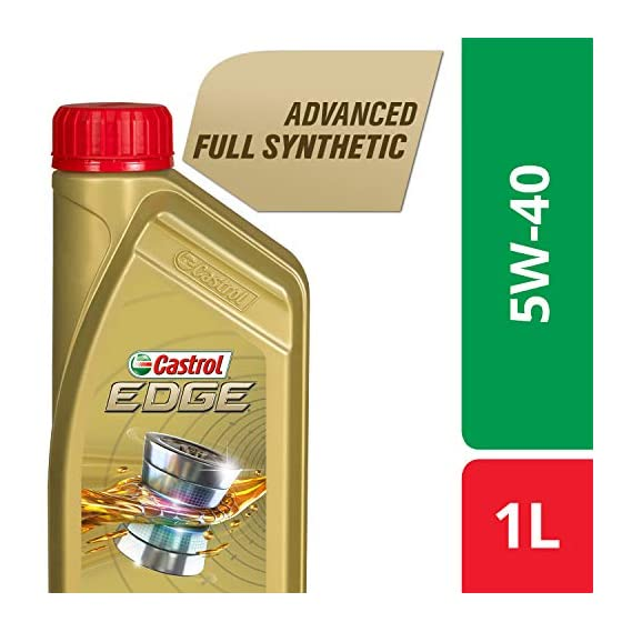 CASTROL Edge 5W40 Fully Synthetic Petrol and Diesel Engine Oil 1LTR
