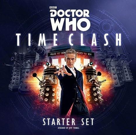 Doctor Who RPG Time Clash Starter Set - English: Amazon.es: Juguetes y juegos